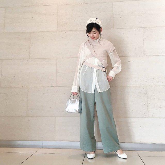 2020年3月のファッショントレンド:シアー