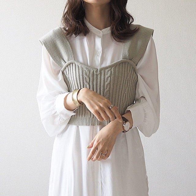 2020年9月のレディースファッショントレンド/01【ビスチェ】2